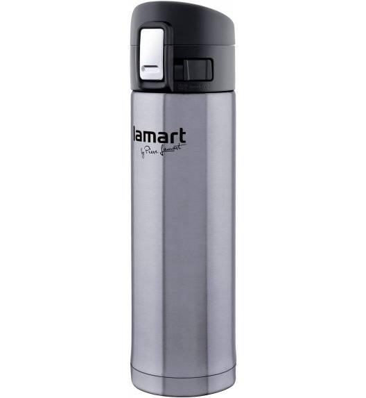 LAMART BRANCHE Termos nierdzewny 420 ml srebrny / LT4008