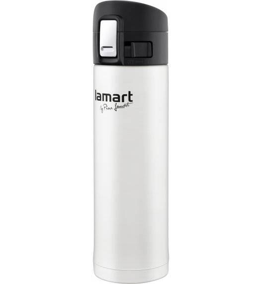 LAMART BRANCHE Termos nierdzewny 420 ml biały / LT4043
