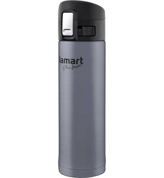 LAMART BRANCHE Termos nierdzewny 420 ml szary / LT4044