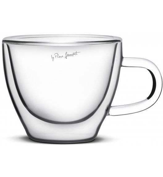 LAMART VASO Zestaw 2 szklanek do cappucino 190 ml / LT9026
