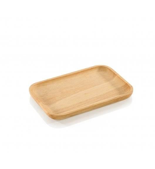 ZASSENHAUS Talerz / deska do serwowania 26 x 17 cm / drewno kauczukowe