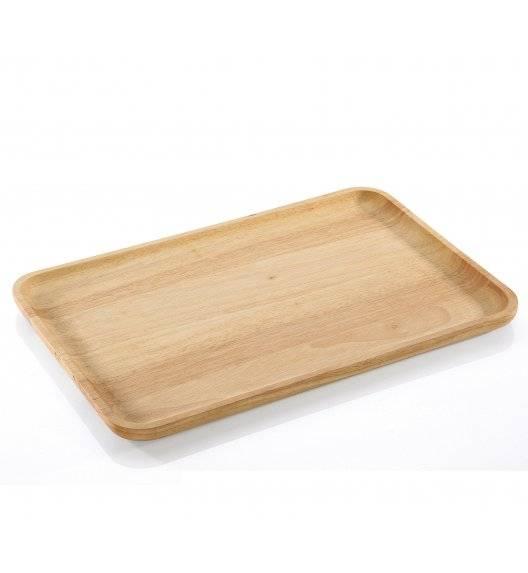 ZASSENHAUS Talerz / deska do serwowania 42 x 27,5 cm / drewno kauczukowe
