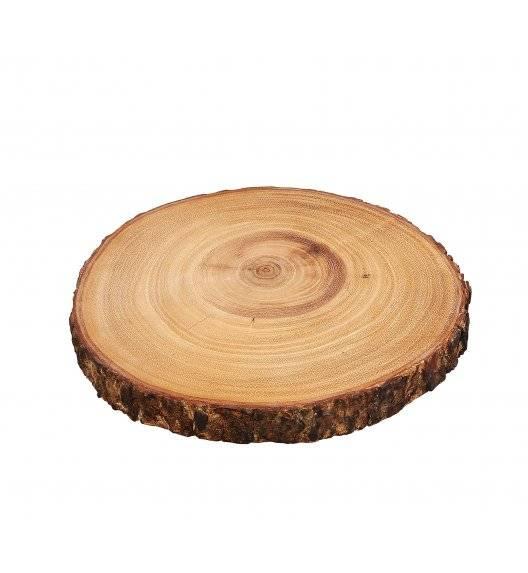 ZASSENHAUS Deska do serwowania z drewna akacjowego ⌀ 23 cm