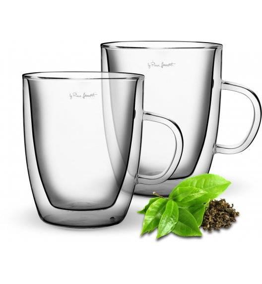LAMART VASO Zestaw 2 szklanek termicznych do herbaty 420 ml / LT9008