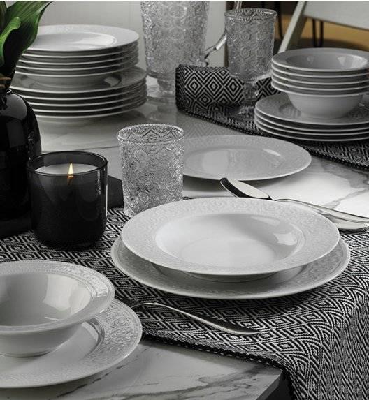 KUTAHYA ACELYA Serwis obiadowy 53 el / 12 os / porcelana