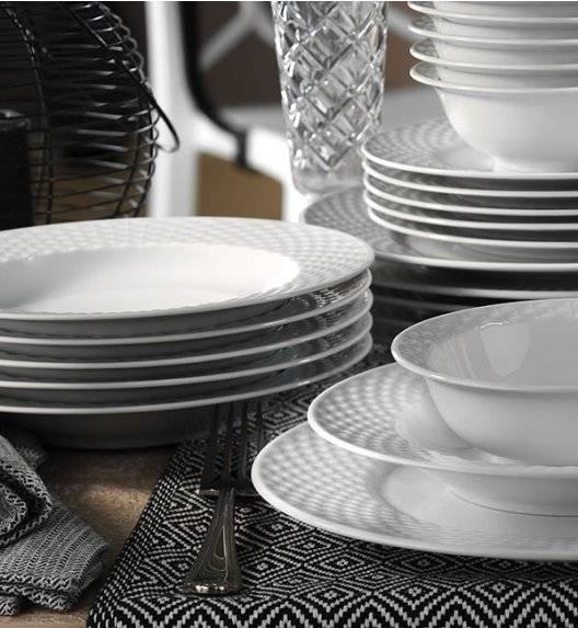 KUTAHYA POLO Serwis obiadowy 53 el / 12 os / porcelana