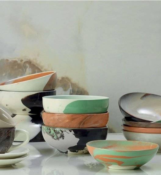 KUTAHYA TEOS HYPNOSE Komplet dwóch misek 12 cm mix kolorów / porcelana