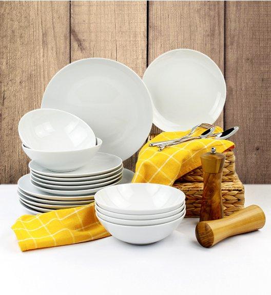 LUBIANA BOSS Serwis obiadowy 72 el / 24 osoby / porcelana