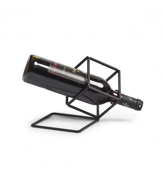 WYPRZEDEAŻ! ZELLER Geometryczny stojak na wino 210 x 19 x 17 cm / metal