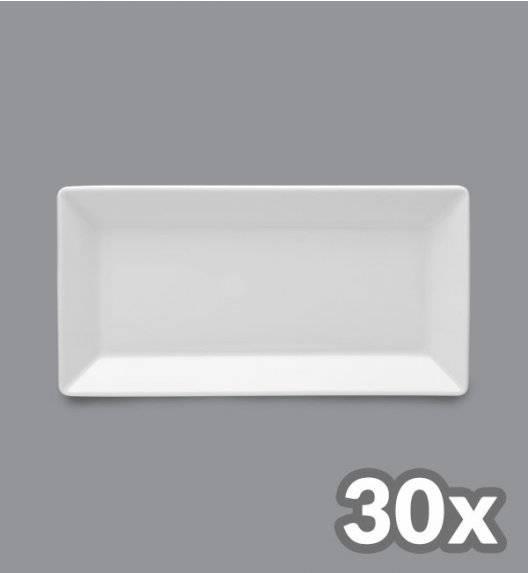 LUBIANA CLASSIC 30 x Półmis / półmisek 23,5 x 12 cm / porcelana