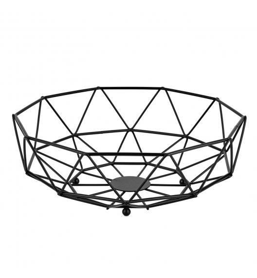 TADAR Koszyk na owoce 28 x 10 cm / czarny