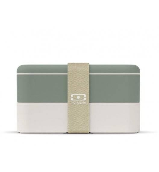 MONBENTO BENTO ORIGINAL Lunchbox 2 x 0,5 L / zielony