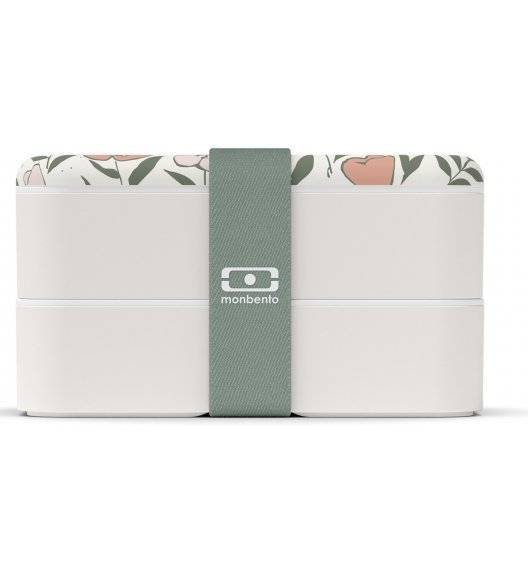 MONBENTO BENTO ORIGINAL Lunchbox 2 x 0,5 L / Bloom