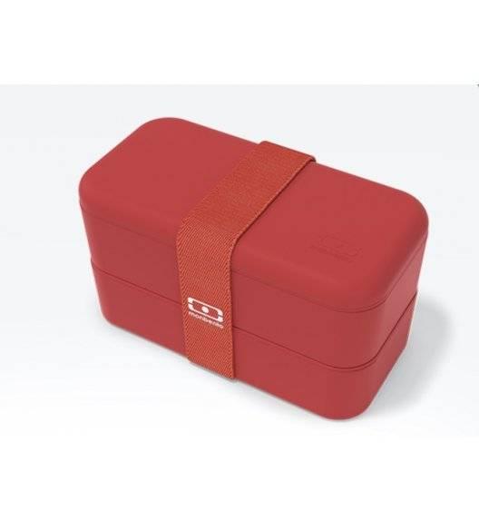 MONBENTO BENTO ORIGINAL Lunchbox 2 x 0,5 L / Podium Red