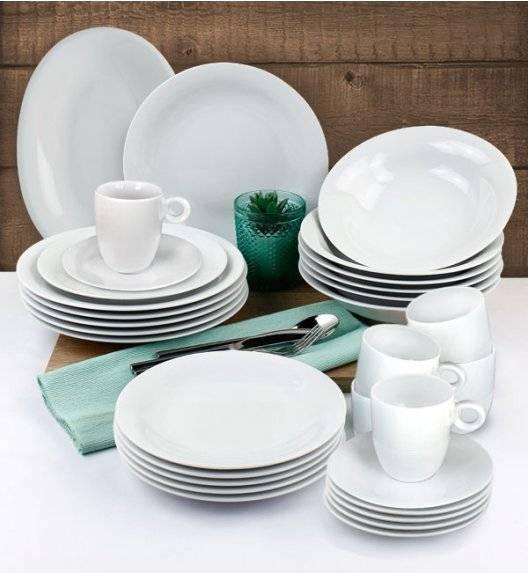 LUBIANA ETO Serwis obiadowo - kawowy 62 el / 12 osób / porcelana