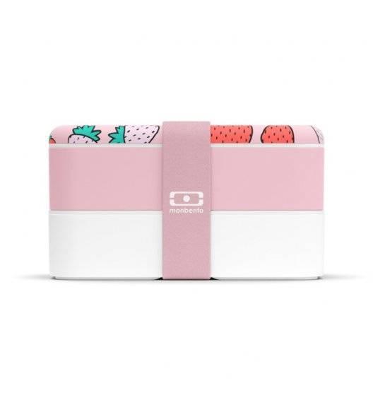 MONBENTO BENTO ORIGINAL Lunchbox 2 x 0,5 L / Graphic Strawberry