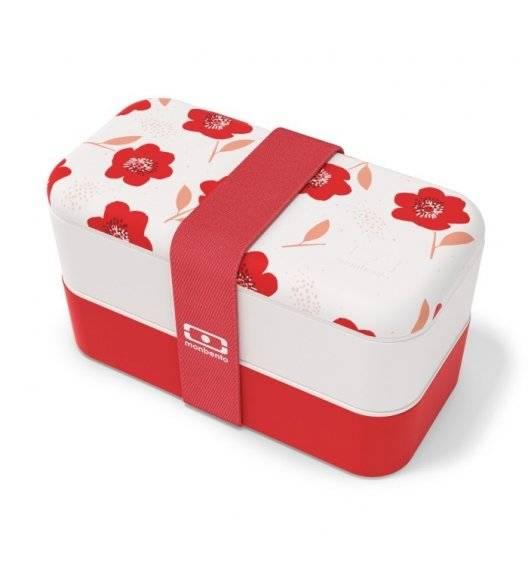 MONBENTO BENTO ORIGINAL Lunchbox 2 x 0,5 L / Poppy