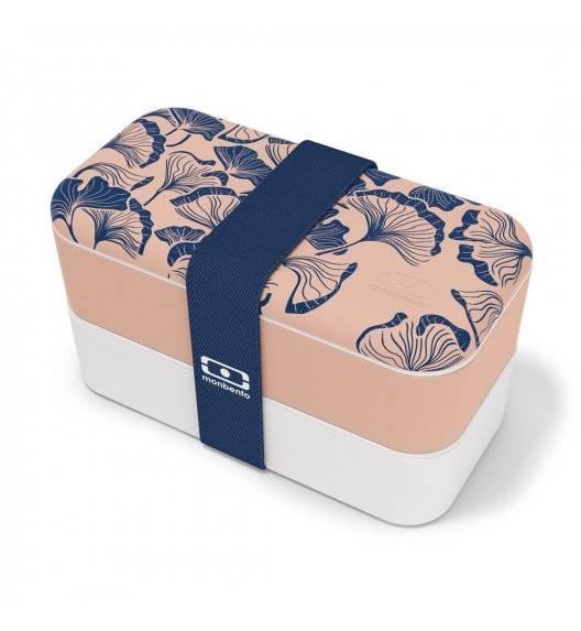 MONBENTO BENTO ORIGINAL Lunchbox 2 x 0,5 L / Graphic Ginkgo