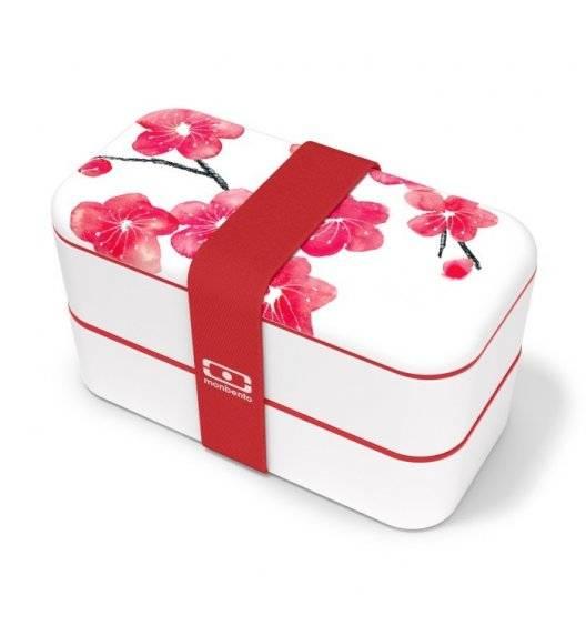 MONBENTO BENTO ORIGINAL Lunchbox 2 x 0,5 L / Graphic Blossom