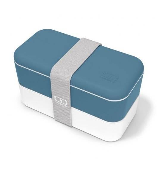 MONBENTO BENTO ORIGINAL Lunchbox 2 x 0,5 L / Blue Denim