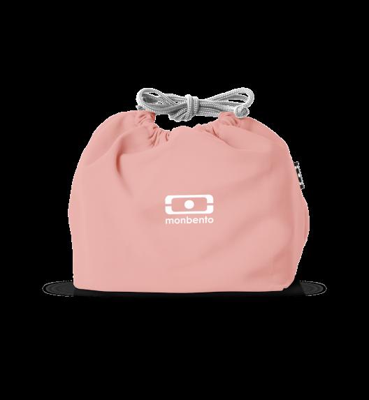 MONBENTO POCHETTE Torba na lunchbox / rozmiar M / Pink Flamingo