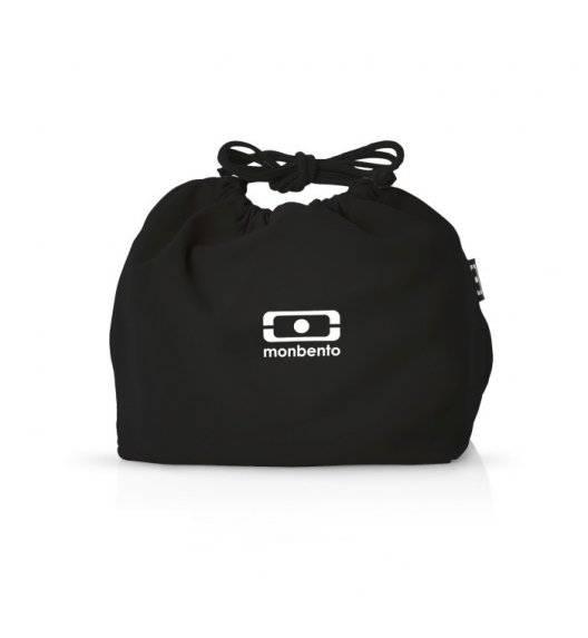 MONBENTO POCHETTE Torba na lunchbox / rozmiar M / Black Onyx