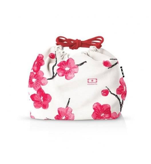 MONBENTO POCHETTE Torba na lunchbox / rozmiar M / Graphic Blossom