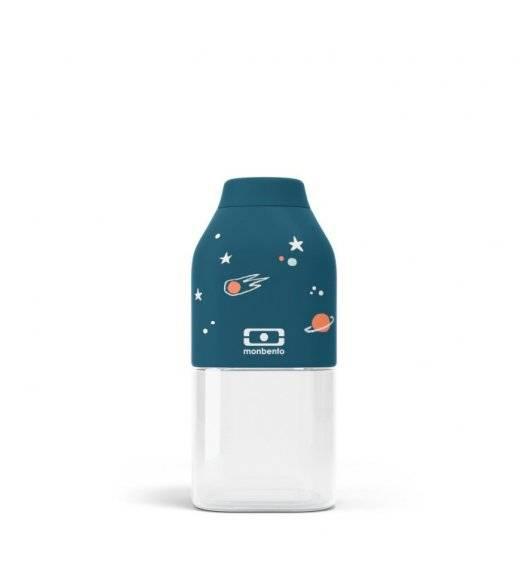 MONBENTO POSITIVE Butelka na wodę 0,33 L / Graphic Cosmic Blue