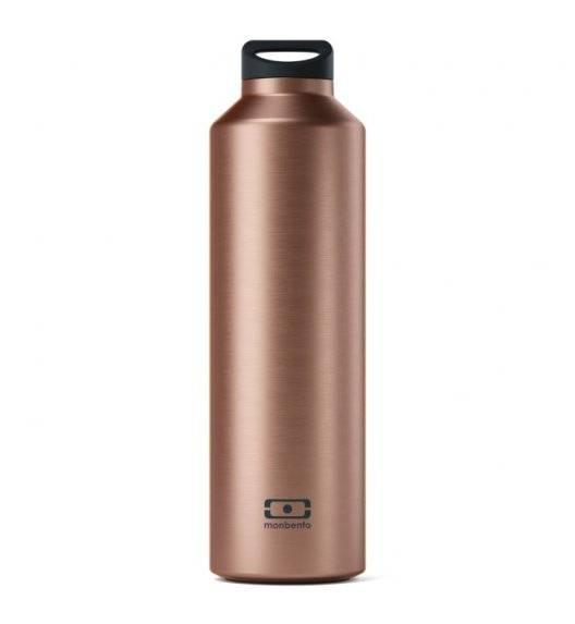 MONBENTO STEEL Butelka termiczna z zaparzaczem 0,5 L / Metallic copper