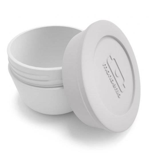 MONBENTO TEMPLE Pojemnik na sos 75 ml / Grey Coton