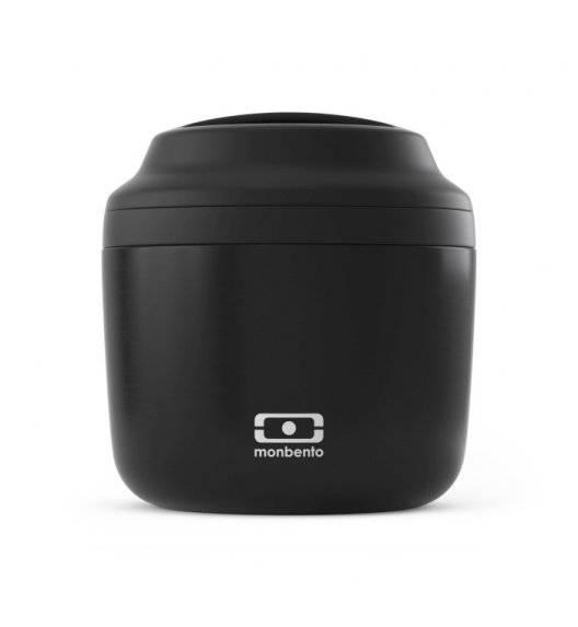 MONBENTO ELEMENT Termos obiadowy 0,55 L / Black Onyx