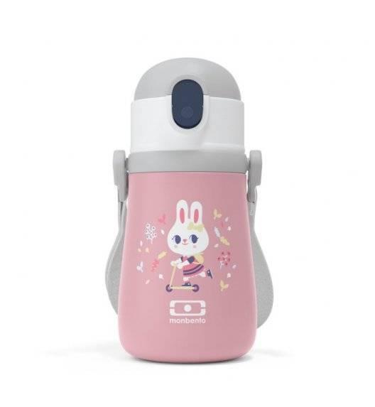 MONBENTO STRAM Termiczna butelka z ustnikiem dla dzieci / Bunny