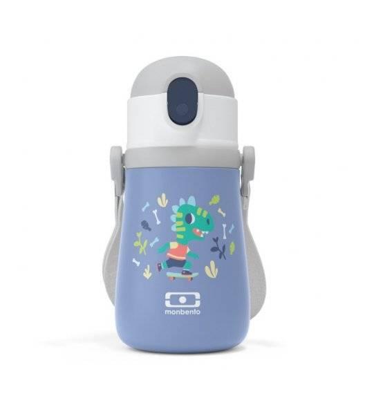 MONBENTO STRAM Termiczna butelka z ustnikiem dla dzieci / Dino