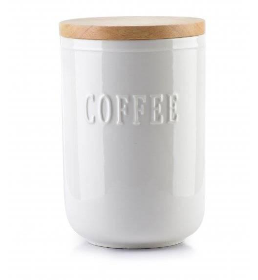 AFFEKDESIGN MODERN LIFE Pojemnik na kawę ø 11 cm / porcelana + drewno