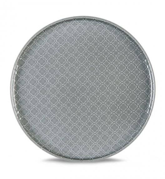 LUBIANA MARRAKESZ K1 Talerz obiadowy 26 cm / szary /porcelana