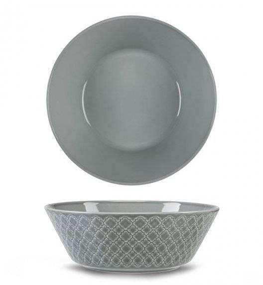 LUBIANA MARRAKESZ K1 Salaterka 23 cm / szary / porcelana