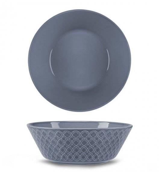 LUBIANA MARRAKESZ K9 Salaterka 23 cm / szaro - niebieski / porcelana