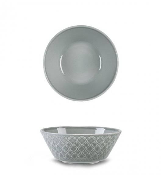LUBIANA MARRAKESZ K1 Salaterka 15 cm / szary / porcelana