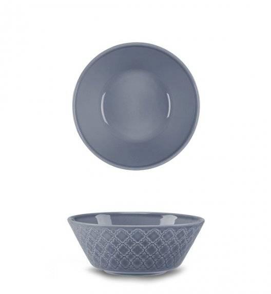 LUBIANA MARRAKESZ K9 Salaterka 15 cm / szaro - niebieski / porcelana