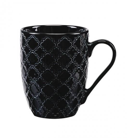 LUBIANA MARRAKESZ K8 Kubek 350 ml / czarny / porcelana