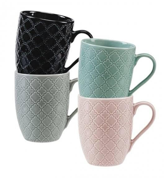 LUBIANA MARRAKESZ Komplet 4 kubków 350 ml / porcelana