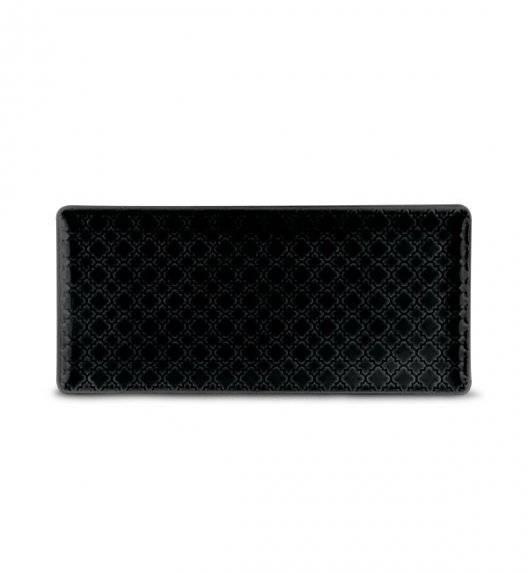 LUBIANA MARRAKESZ K8 Talerz serwingowy / półmis 29 x 13 cm / czarny / porcelana