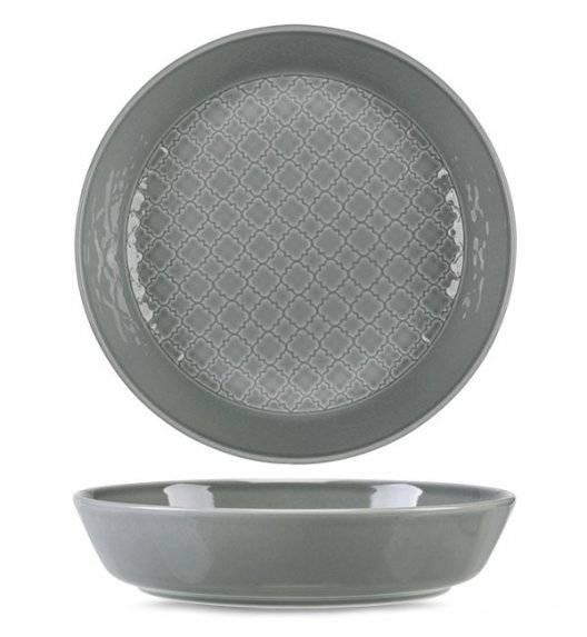 LUBIANA MARRAKESZ K1 Talerz głęboki 20 cm / szary / porcelana