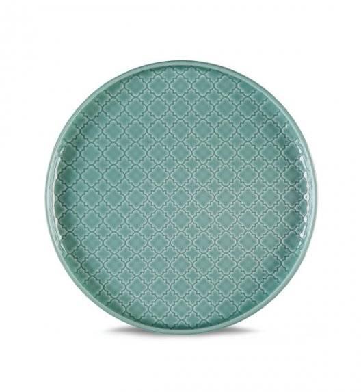 LUBIANA MARRAKESZ K5 Talerz deserowy 20 cm / morski / porcelana