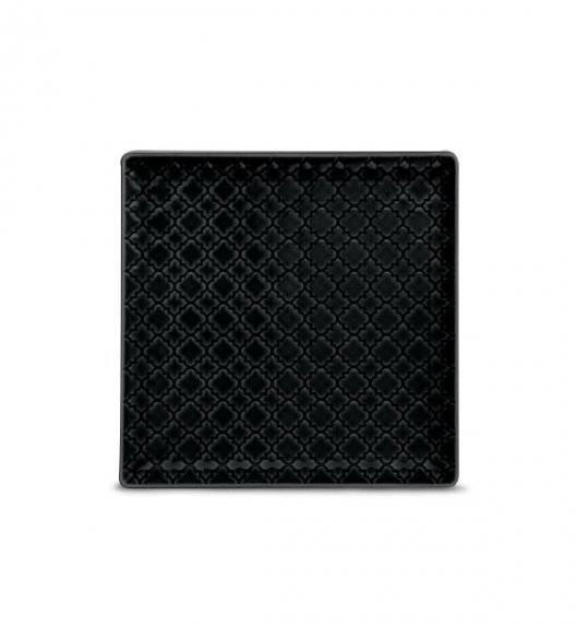 LUBIANA MARRAKESZ K8 Talerz deserowy 17 cm / czarny / porcelana