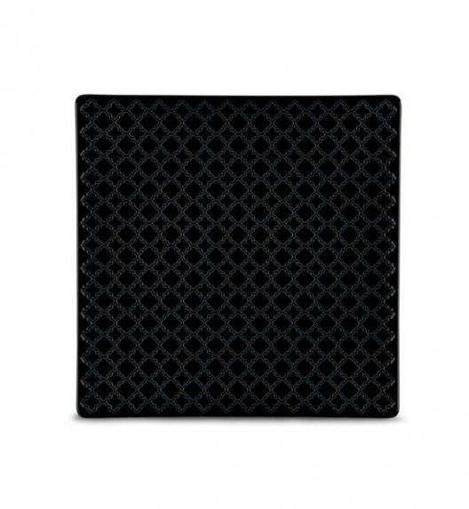 LUBIANA MARRAKESZ K8 Talerz deserowy 20,5 cm / czarny / porcelana
