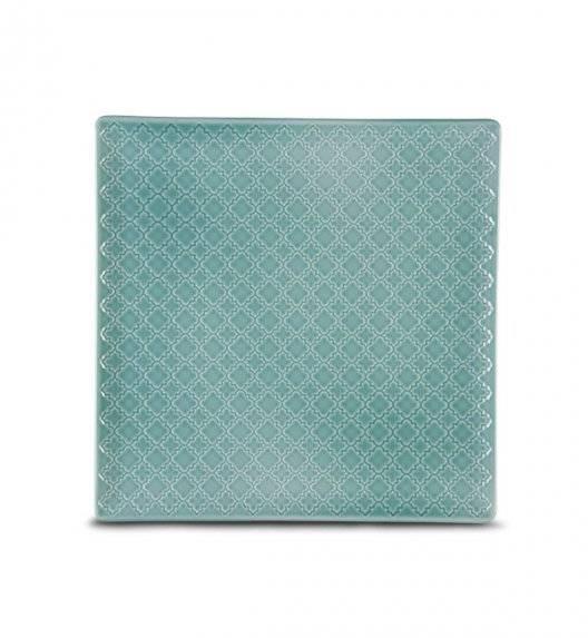 LUBIANA MARRAKESZ K5 Talerz deserowy 20,5 cm / morski / porcelana