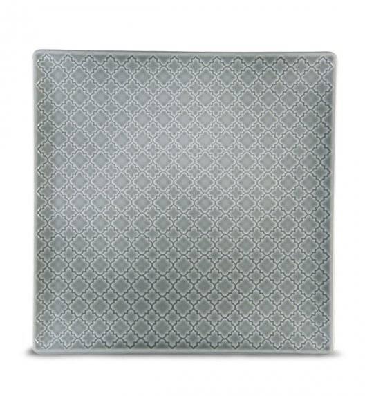 LUBIANA MARRAKESZ K1 Talerz obiadowy 25,5 cm / szary / porcelana