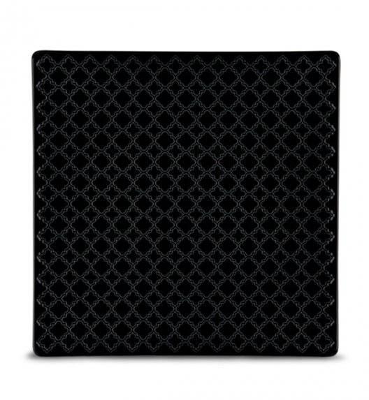 LUBIANA MARRAKESZ K8 Talerz obiadowy 25,5 cm / czarny / porcelana