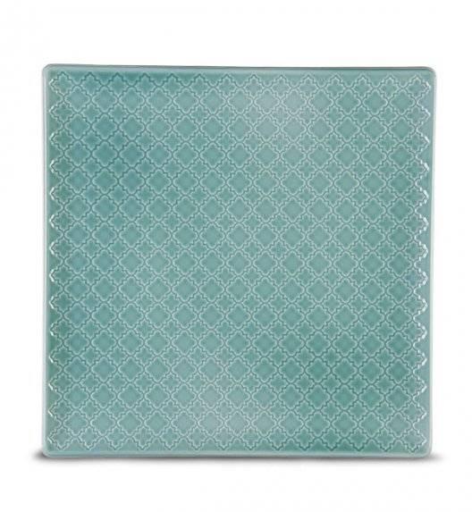 LUBIANA MARRAKESZ K5 Talerz obiadowy 25,5 cm / morski / porcelana